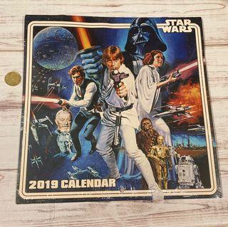 Calendario 2019 Star wars nuevo