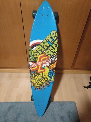 Santa Cruz longboard skate 2011
