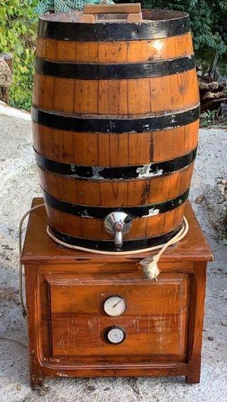 Barrica, barril o cuba refrigeradora 30l