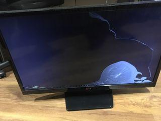 Televisón LG para piezas