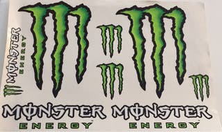 Pegatinas Monster grandes