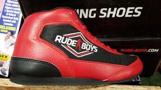 Botas rojas boxeo talla 40