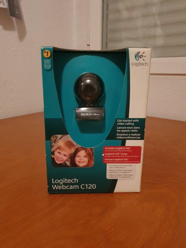 Webcam Logitech C120