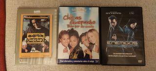 Pack de 3 películas