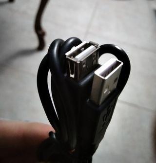 cable alargador USB macho x hembra