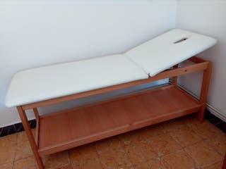 camilla para terapias, masajes, estética