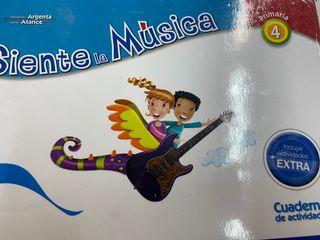 Libro de música y actividades 4 primaria