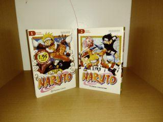 Manga Naruto 1 y 2