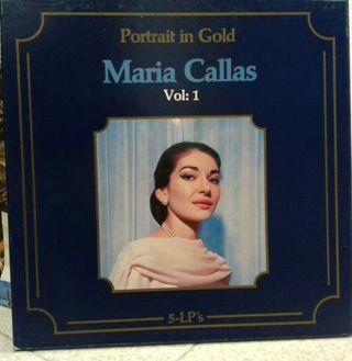 Pack vinilos Maria Callas y música clásica