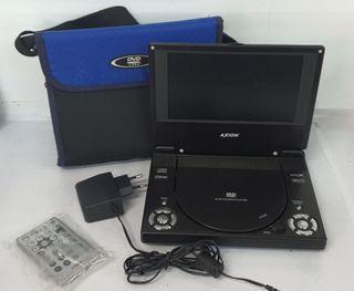 Reproductor DVD Portátil con mando a distancia