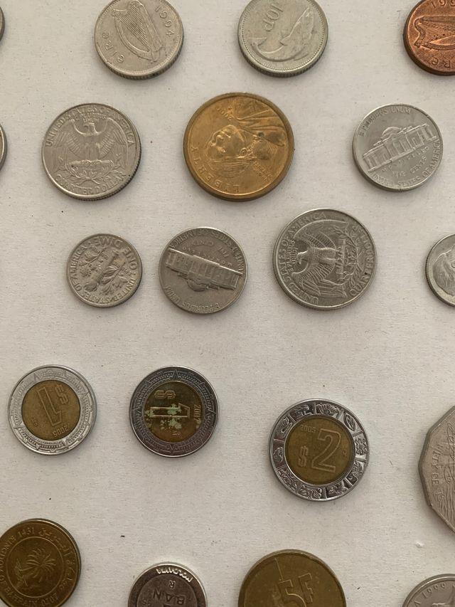 Lote monedas