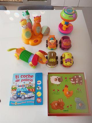 Lote juguetes bebe 1 año