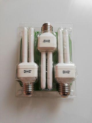 Bombillas bajo consumo, E27 Ikea