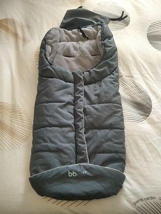 saco polar universal de silla gris