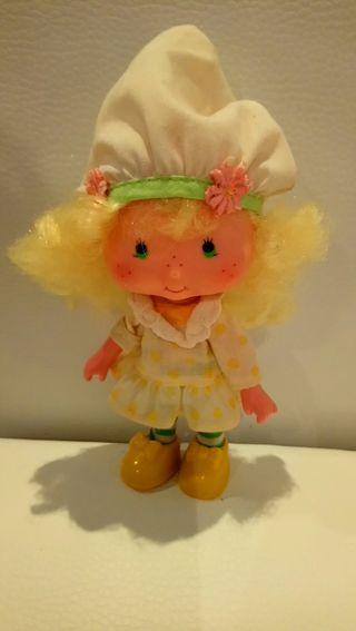 Muñeca tarta de fresa, tarta de limon
