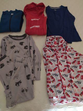 Lote ropa niño T. 7-8 años