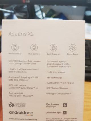 SMARTPHONE BQ AQUARIS X2 (64+4) BLACK CARBON