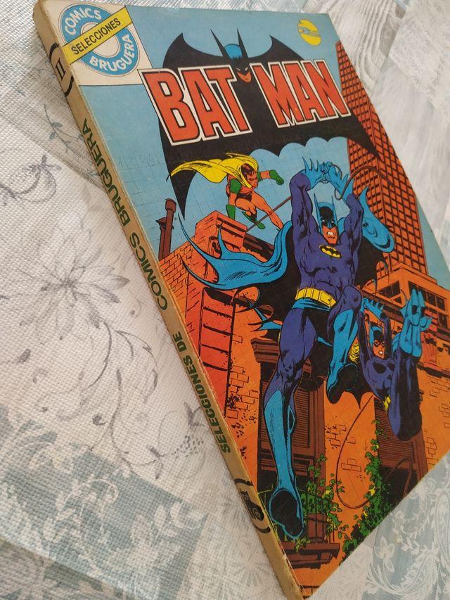 cómic bat man bruguera