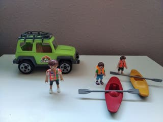 Coche camping Playmobil