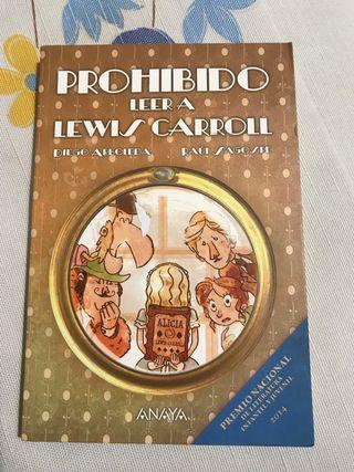 Libro Prohibido leer a Lewis Carroll