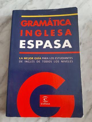 Vendo libro Gramática inglesa espasa