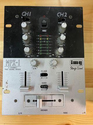 Mesa de mezclas 2 canales IMG