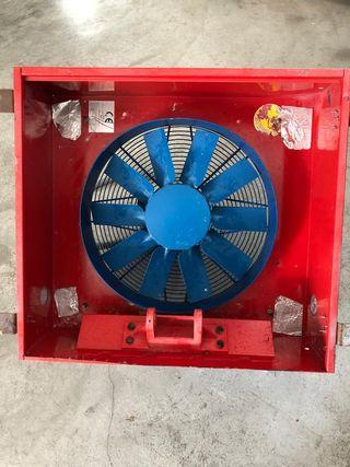 Motor completo extractor de aire Casals