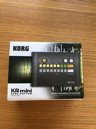Korg KR Mini- Caja de ritmos