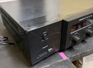 Amplificador 100W con USB y bluetooth