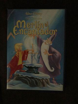 Película DVD Merlín El Encantador