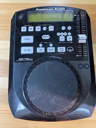 Reproductor cd AMERICAN AUDIO MP3