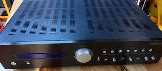 Amplificador hi-fi 2x80Wrms con radio,USB