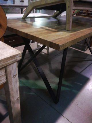 Mesa comedor tipo industrial 180x90cm