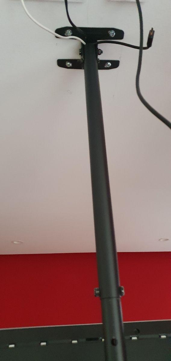 soporte tv techo