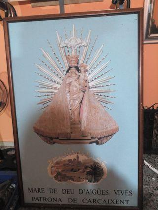 cuadro de la virgen de Carcaixent