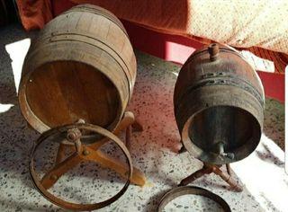 Botas de vino, barricas, toneles