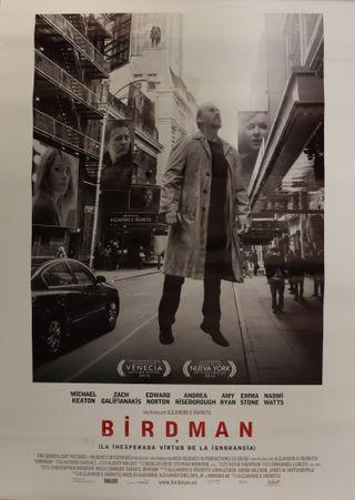 Póster película Birdman