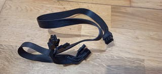 Cable fuente modular EVGA PCIe 8pin x2 (6+2) pines