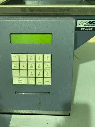 Máquina contadora de monedas