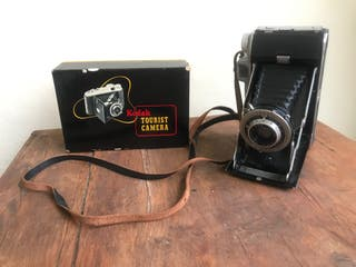 Kodak Tourist de 1948 con caja original