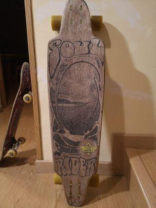 pack longboard y skate