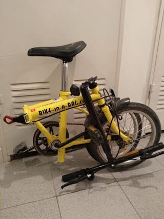 Bicicleta plegable Bike-In-A-Bag