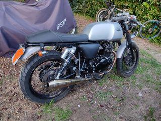 Moto 125cc Mash Cafe Racer Silver