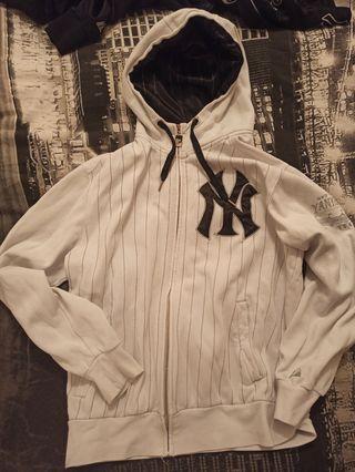 Sudadera con capucha new York yankees