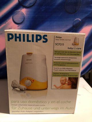 Calienta biberones Philips casa y coche