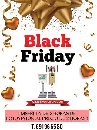 Fotomatón eventos ¡PROMO BLACK FRIDAY!