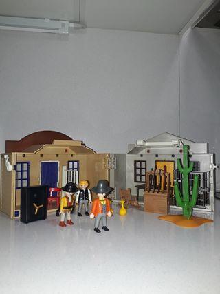 ciudad oeste playmobil