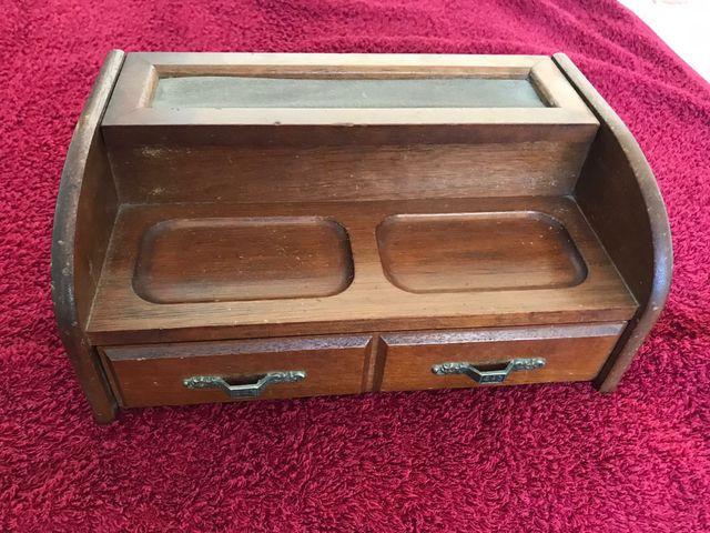 caja joyero o mini secreter