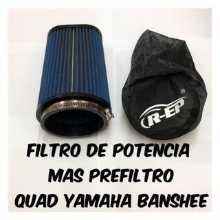 Filtro potencia Más prefiltro Yamaha banshee