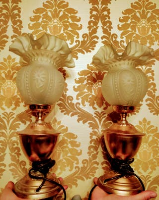 Lámparas de sobremesa clásicas vintage